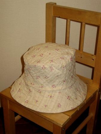 帽子(花柄)