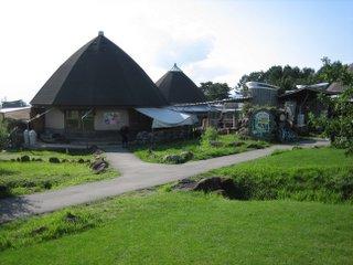 八ヶ岳農業大学校の敷地内の建物