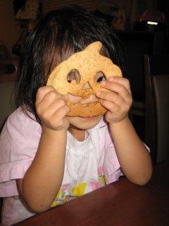 娘とクッキー