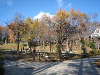 萌木の村広場