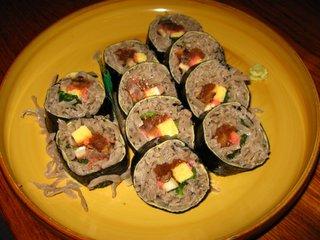 絶品! そば寿司