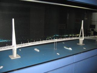 ベイブリッジ模型