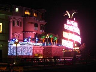 江ノ島入り口の夜