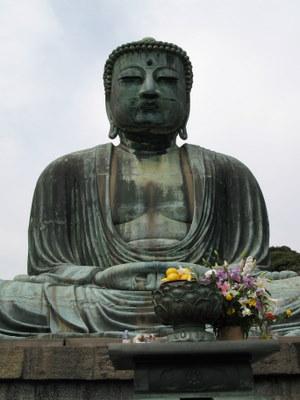 鎌倉の大仏 正面
