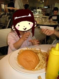 こんなに大きいハンバーガー