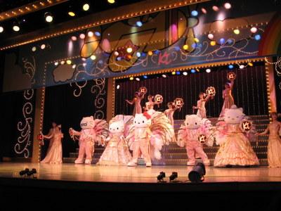 宝塚風のショー