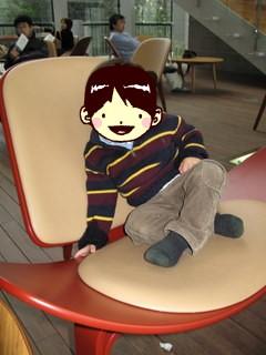 1階の椅子