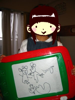 アンのお絵描き