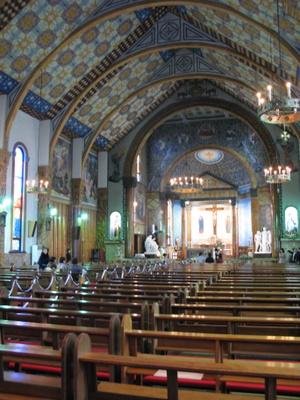 サレジオ教会での挙式