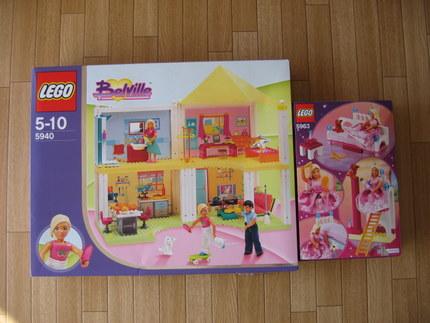 アンの持っていた女の子レゴ