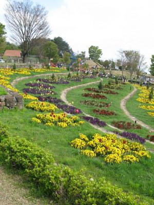 ハイジの村の花壇