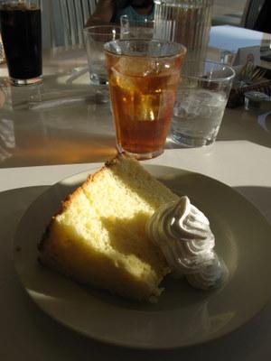 レモンのシフォンケーキのセット