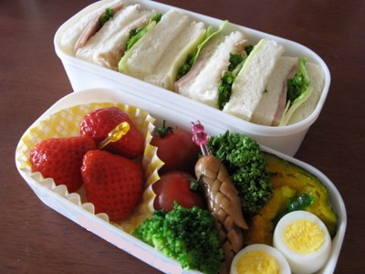 遠足の日のお弁当