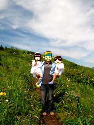 ニッコウキスゲの山を散策