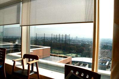 12階食堂からの眺め