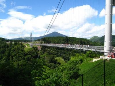 九重夢の大吊り橋