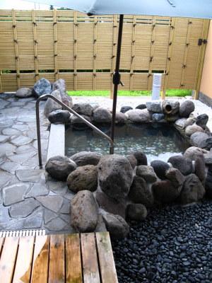 他の部屋の露天風呂