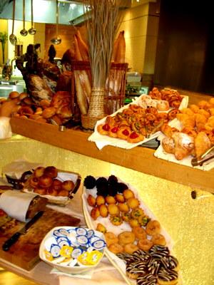 ケンピンスキホテルの朝食2