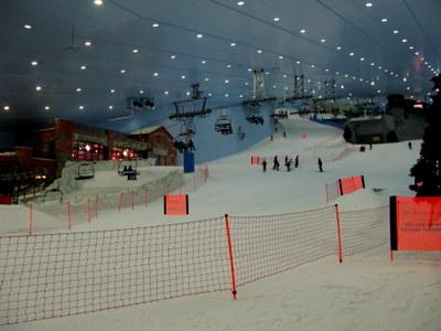 ドバイのスキー場1