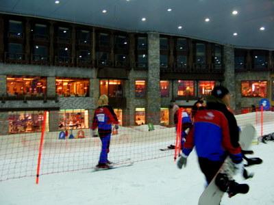 ドバイのスキー場2