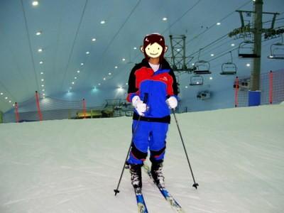 レンタルのスキーウエア&スキー板