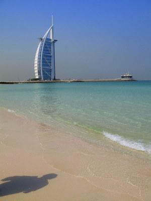 バージュアルアラブと海