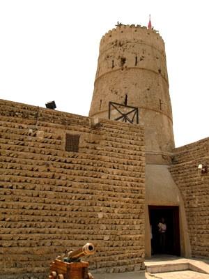 ドバイ博物館の砦