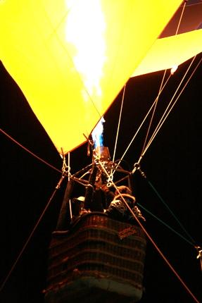 熱気球アップ
