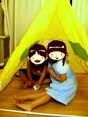 ミッフィーのテント