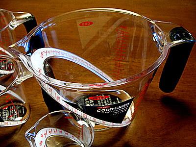 1Lのオクソーのメジャーカップ