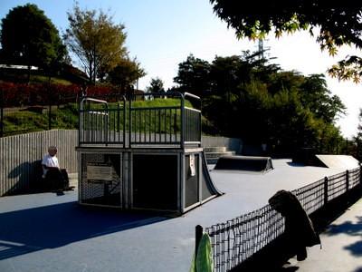 スケートボード練習場