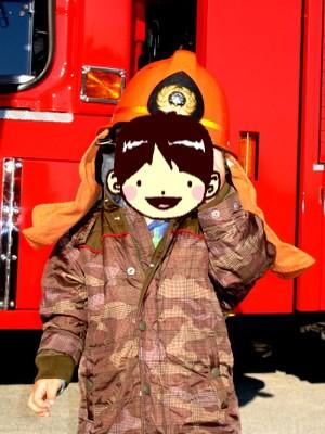 消防士さんになりました