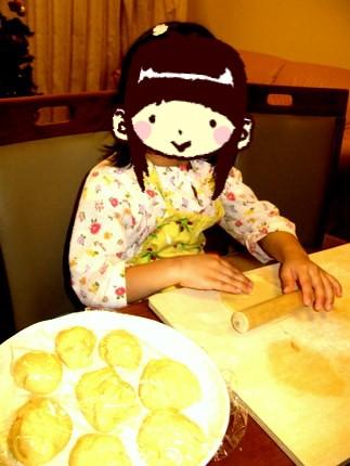 アンのパン作り
