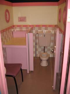 女の子用トイレ