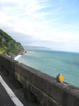 断崖絶壁のルート