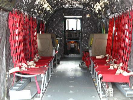 ある機体の内部
