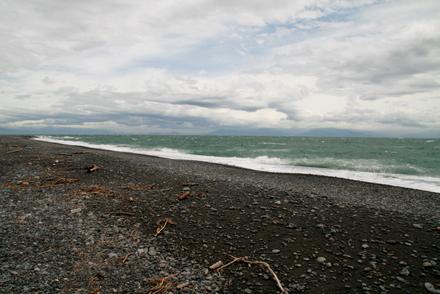 三保の松原の海