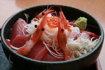海鮮次郎長丼