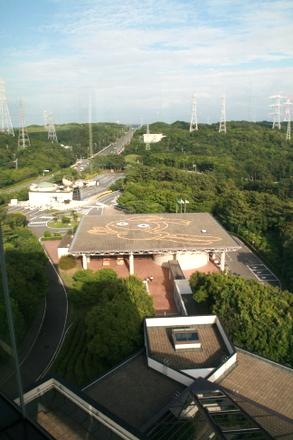 展望室からの眺め