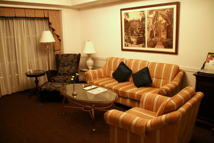 エクシブ浜名湖の宿泊したお部屋