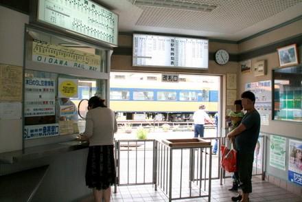 新金谷駅の改札
