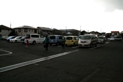 ひな野の駐車場