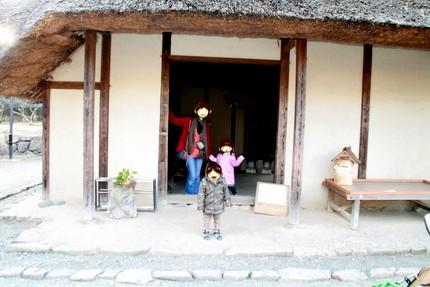小川家入り口
