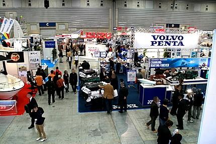 ジャパン インターナショナル ボートショー IN 横浜のパシフィコ会場