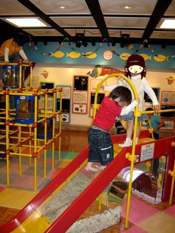 よしもと赤ちゃん水族館の遊び場