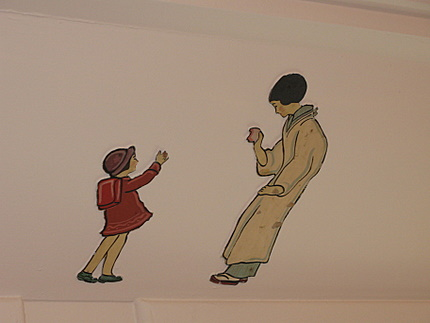 児童室の絵1