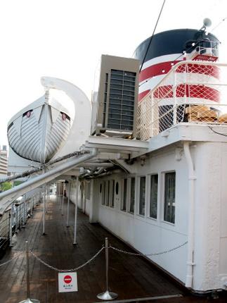 氷川丸船上2