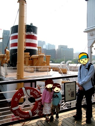 氷川丸船上3