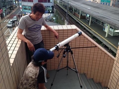 日本製スコープテックの天体望遠鏡