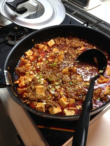 本格味な麻婆豆腐